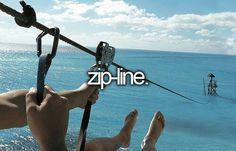 zipline to the water