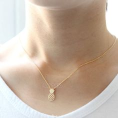 New pineapple gold necklace New pineapple gold necklace Jewelry Necklaces