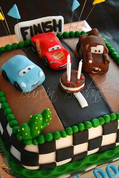 Disney Cars Cake | Flickr - Photo Sharing!