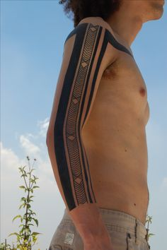 Brazilian Indian tribal by László Kis