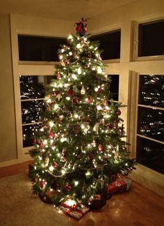 20 christmas tree lights ideas