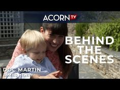 The Doc Martin cast & crew share the joy of working with brilliant young actor, Elliot, who plays Doc Martin's son, James Henry. Doc Martins, Tv Station, Young Actors, Music Publishing, Favorite Tv Shows, Behind The Scenes, Songs, Acorn, British