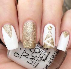 awesome Оригинальный золотой маникюр (50 фото) — Лучшие идеи дизайна ногтей Читай больше http://avrorra.com/zolotoj-manikyur-foto/