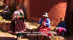 HILADO ARTESANAL: PERU - BOLIVIA.
