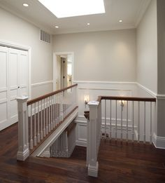 HALLWAY- bm edgecomb gray...what we're currently painting our main floor!