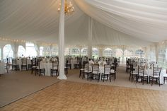Concordia University in Ann Arbor reception at Earhart Manor in the tent