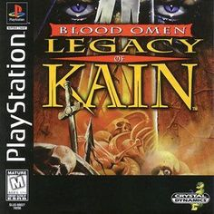 Complete Blood Omen:Legacy of Kain - PS1 Game