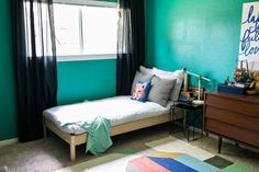 Phoenix's 'Perfect Green' Room — My Room | Apartment Therapy
