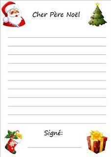 Lettre au Père Noël                                                                                                                                                                                 Plus