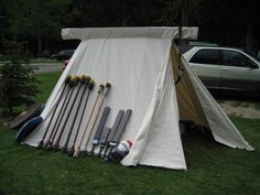Anglo-Saxon Tent (Geteld)