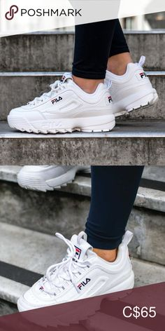 Fila Disruptor Ii 2 Used Perfect Condition Size Boys 7 Womens 8 5 Fila Shoes Athletic Shoes Fila Disruptors Aesthetic Shoes Outfit Shoes