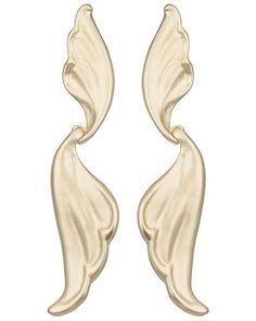Milli Statement Earrings in Gold - Kendra Scott Jewelry. Available January 22, 2014.