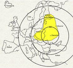 Chernobyl Nuclear Power Plant, Pripyat, Ukraine. April 26, 1986---Reactor # 4 explodes. Chernobyl - Global Radiation Zones