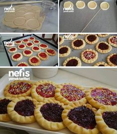 kişinin defterindeki Evde Eti Cin'in resim… How to Make Eti Gin at Home? Here is a pictorial description of Eti Gin at home in the book of people, and photographs of those who tried it. Mini Desserts, No Bake Desserts, Dessert Recipes, Subway Cookie Recipes, Wie Macht Man, Breakfast Tea, Turkish Recipes, Unique Recipes, Diy Food