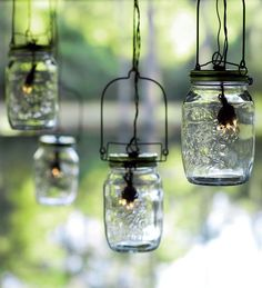 Remember putting fireflies in a jar? Bring back that feeling with our Solar Glass Mason Jar Outdoor Lights.