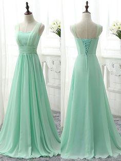 Sweetheart Chiffon Sweep Train Ruffles Modern Bridesmaid Dress - dressesofgirl.com