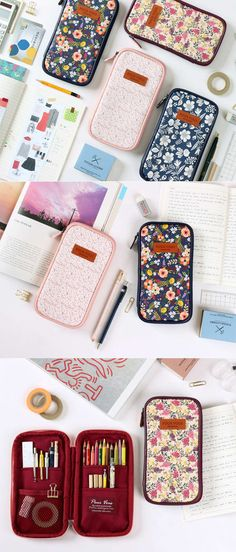 The Pour Vous Multi Pouch v2 is a wonderful multipurpose pouch! It has 4 useful pockets inside, and is made of a durable material for everyday use! The beautiful flowery patterns on the exterior make this pouch simply lovely!