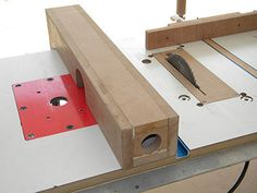 Router and table saw fence