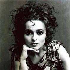 Helena Bonham-Carter vintagey.