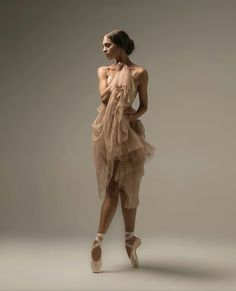 beautiful dancer and her dress