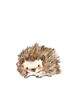 "Children's Art -- ""PRICKLES"" -- Archival Print"