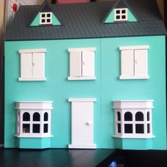 Refurbished dolls house for sale, includes furnishings and doll. Open to further offers 🌸💗 Doll Houses For Sale, Garage Doors, Dolls, Outdoor Decor, Projects, Diy, Crafts, Inspiration, Home Decor