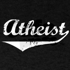 Atheist Athletic t-shirt by Cafe Press $26.50