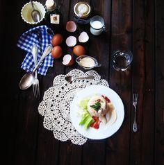 LAS RECETAS DE MAMA ROSA: Flanes de salmón, tomates secos y mayonesa con bal...