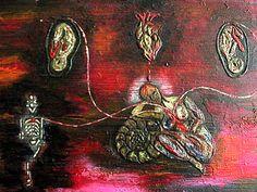 Título: Mis hijos...los tres  Técnica Acrílico  Formato 20 x 30  autora la gata roja  disponible  informes rosaeliasmass@yahoo.com.mx