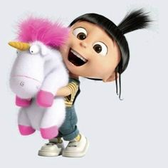 *AGNES ~ Despicable Me II, 2013.....IT'S SO FLUFFY!!!!!