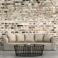 Papier peint intissé 350x245 cm - 3 couleurs au choix - Top vente - Papier peint - Tableaux muraux déco XXL - Brique f-A-0411-a-d: Amazon.fr: Cuisine & Maison