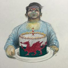 'Welsh Cake', pencil on paper, 10x10cm #cake #welsh #welshcake #supracolour #drawings #pencil #sketch #sketchaday  #illustration #drawingoftheday #image #drawn #sketchbook #doodle #art #artwork #artistoninstagram #artshow #artgallery #newartwork #fineart #myart #artnews #artinfo #creative #color #colour #arte #artwork #carandache