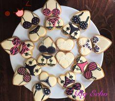 Bachelorette party lingerie cookies