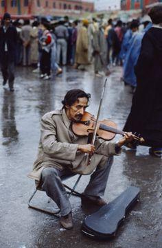 music in the rain