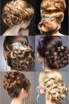 Awesome Wedding Hair Styles Collection. Still Research Online For The Excellent Hairstyle For Your Wedding Ceremony And Party? Get Impressed By These Kinds Of Elegant Styles Which Will Leave Any Bride Tressed To Impress !