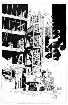 Eduardo Risso | SPACEMAN | Issue 1 Page 10 Comic Art
