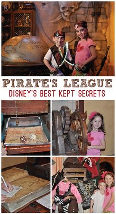 Disney Pirates League Makeover Tips - Disney Best Kept Secrets: Disney's Best Kept Secrets: The Pirate's League at Magic Kingdom. Check out our Disney's Pirate's League Review, Tips, and photos from our fantastic experience at the Pirate's League. Both girls and boys will totally LOVE this one of a kind Disney experience that will bring the magic to life. Storytelling at it's best!  Classy Mommy