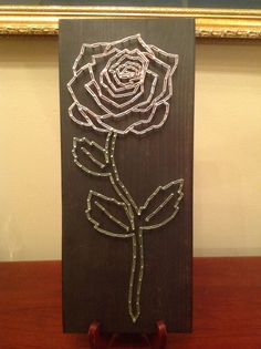 Hey, I found this really awesome Etsy listing at https://www.etsy.com/listing/273408746/rose-string-art-6x14