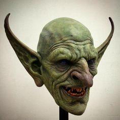 "Clay sculpture by Jordu Schell FB entitled:  ""Goblin"""
