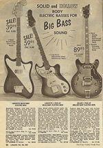 VintAxe.com Vintage Guitars - Vintage Japanese Catalogs - Lafayette - 1968