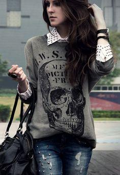 7c6b930b186d Want this sweater  womensfashionedgy Fashion Moda