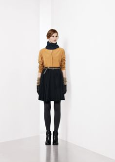 presents the New Fall Winter 2012 Collection for Unconventional Chic Woman. Modern Luxury, Runway Fashion, High Waisted Skirt, Fall Winter, Normcore, Chic, Skirts, How To Wear, Skirt