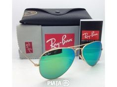 Ray-Ban Sunglasses RB 3025 Large Metal Gold with Multi-Green Mirror 400000195988 Mirrored Aviators, Mirrored Sunglasses, Ray Ban Glasses, Ray Ban Sunglasses Outlet, Mens Sunglasses, White Ray Bans, Ray Ban Original, Ray Ban Aviator