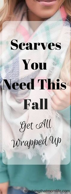 Scarves You Need This Fall!  fall fashion. how to wear scarves. scarf outfits. outfits for scarves. fall scarves. fall scarf.