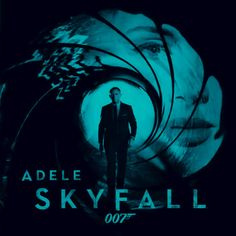 This DVD cover is very effective - it obviously has James Bond on the front but I also like the way Adele can be seen in the background (with relation to the theme song). The colours suit it.