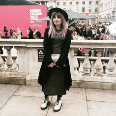 Helen Anderson  Wearing @newlookfashion today at #lfw