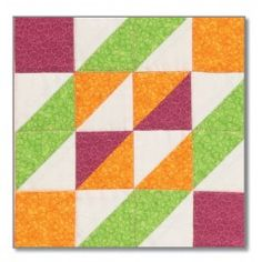 Block 6: GO! Trellis Block Pattern by Eleanor Burns