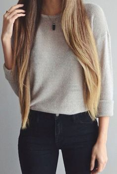 My hair will be this long soon.