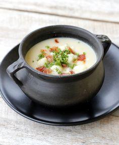 lindastuhaug | Blomkålsuppe med bacon