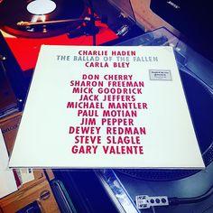#chaliehaden #theballadofthefallen #ecm #ecmrecords #digitalrecording #jazz #jazzy #jazzie #jazzband #albumoftheday #album #nowplaying #nowspinning #whatsplaying #best_vinyl_records #bestvinylrecords #bestoftheday #music #mymusic #musicgram #longplay #musiconvinyl #recordoftheday #recordcollector #recordcollection #vinylcollection #vinyloftheday #chillout by ngapc